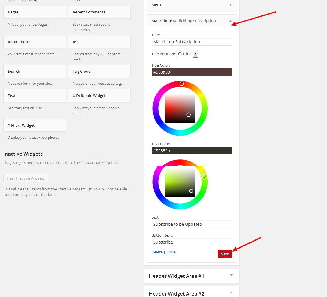 Wordpress Mailchimp Subscription Plugin - 10